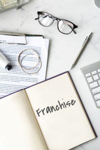 Franchise Business Work Mission Concept