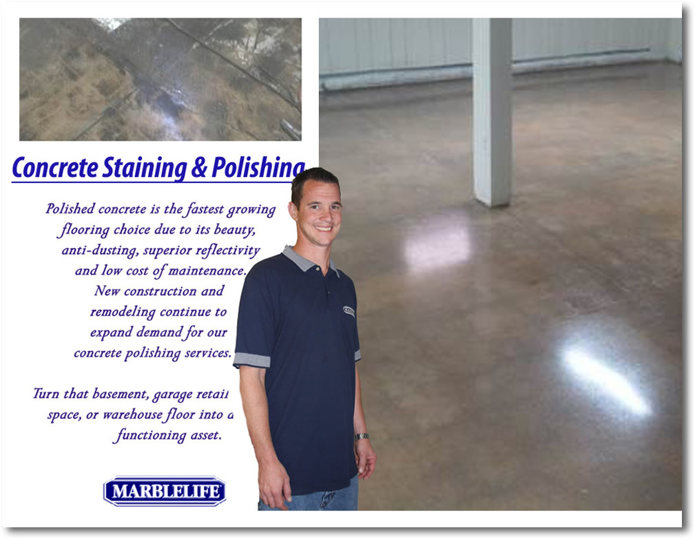 Concrete Staining Testimonial